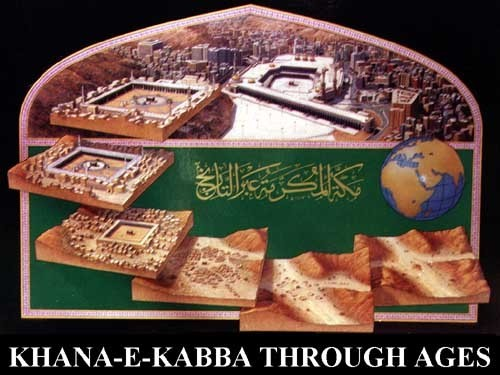 kaaba-through-ages