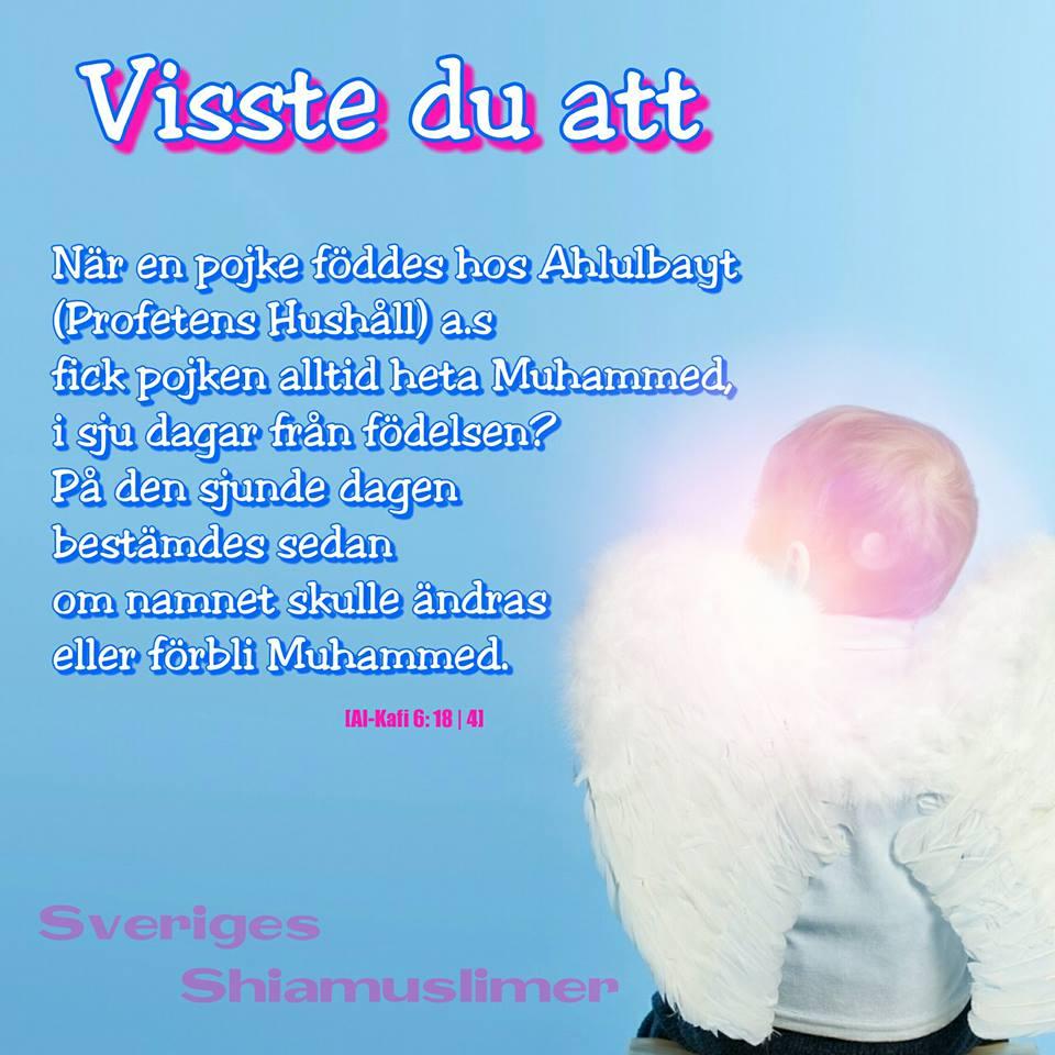 namnet muhammed