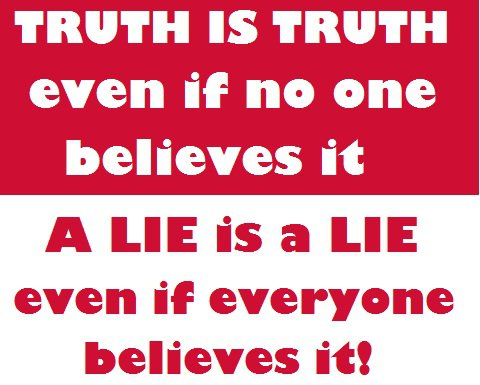 a psychological study testing the power of lies versus the power of truth Errors in hypothesis testing and power are only our best estimates of the truth but, in most studies.